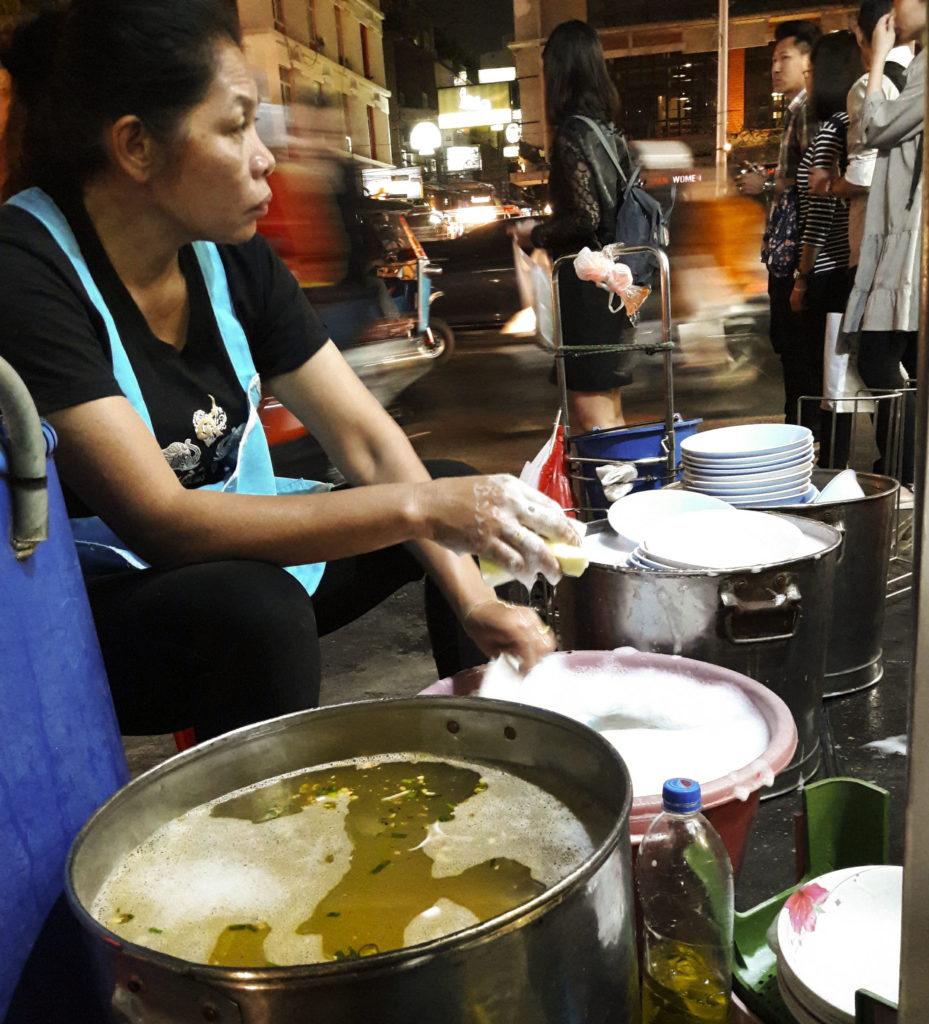 Bangkok, street life