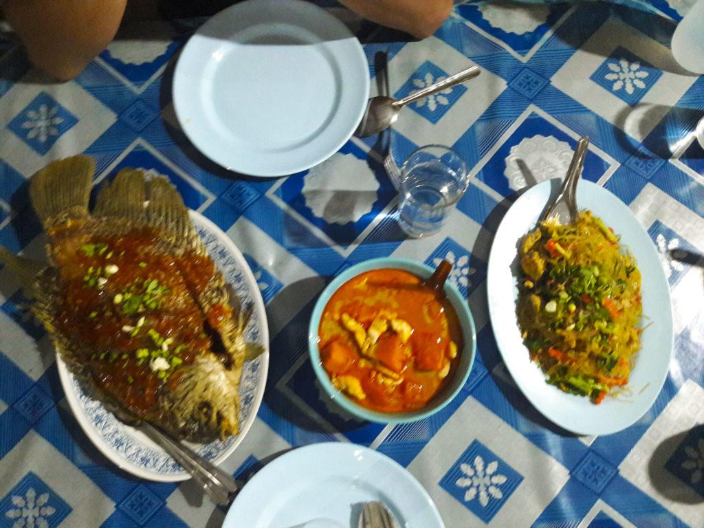 Dinner, Khao Sok