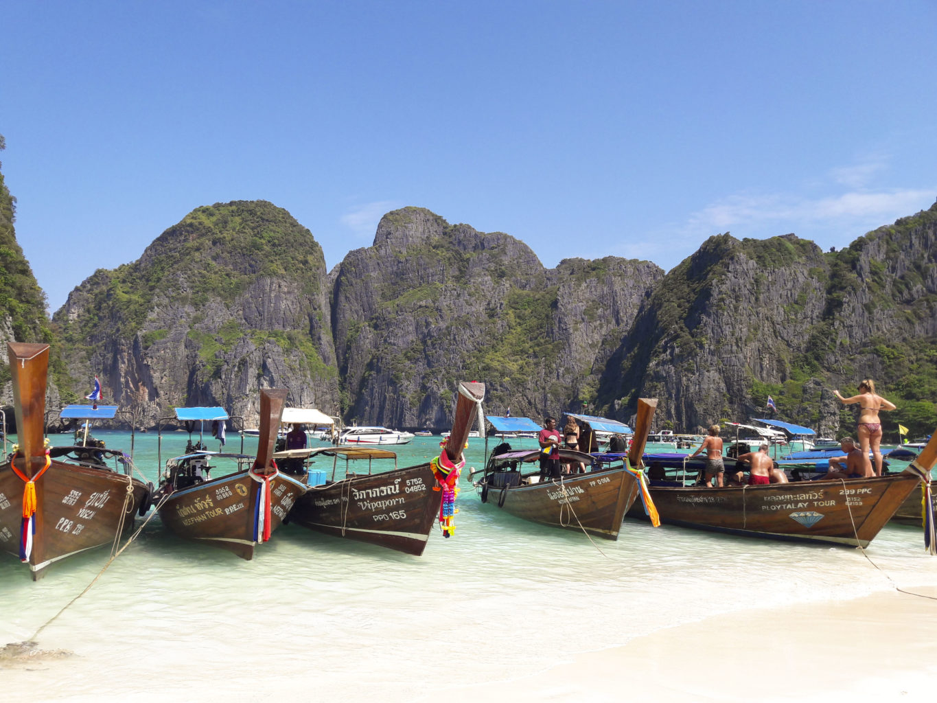 Ko Phi Phi the corrupted paradise Dare to Travel Alone