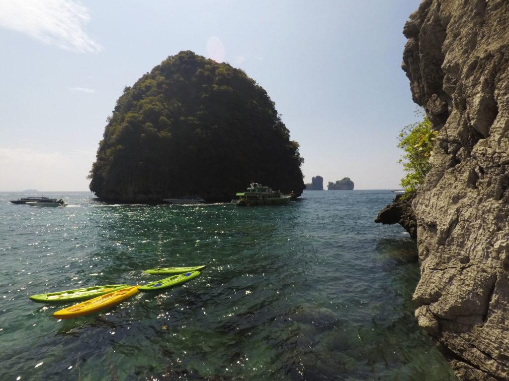 View from Loh Samah Bay Ko Phi Phi Leh