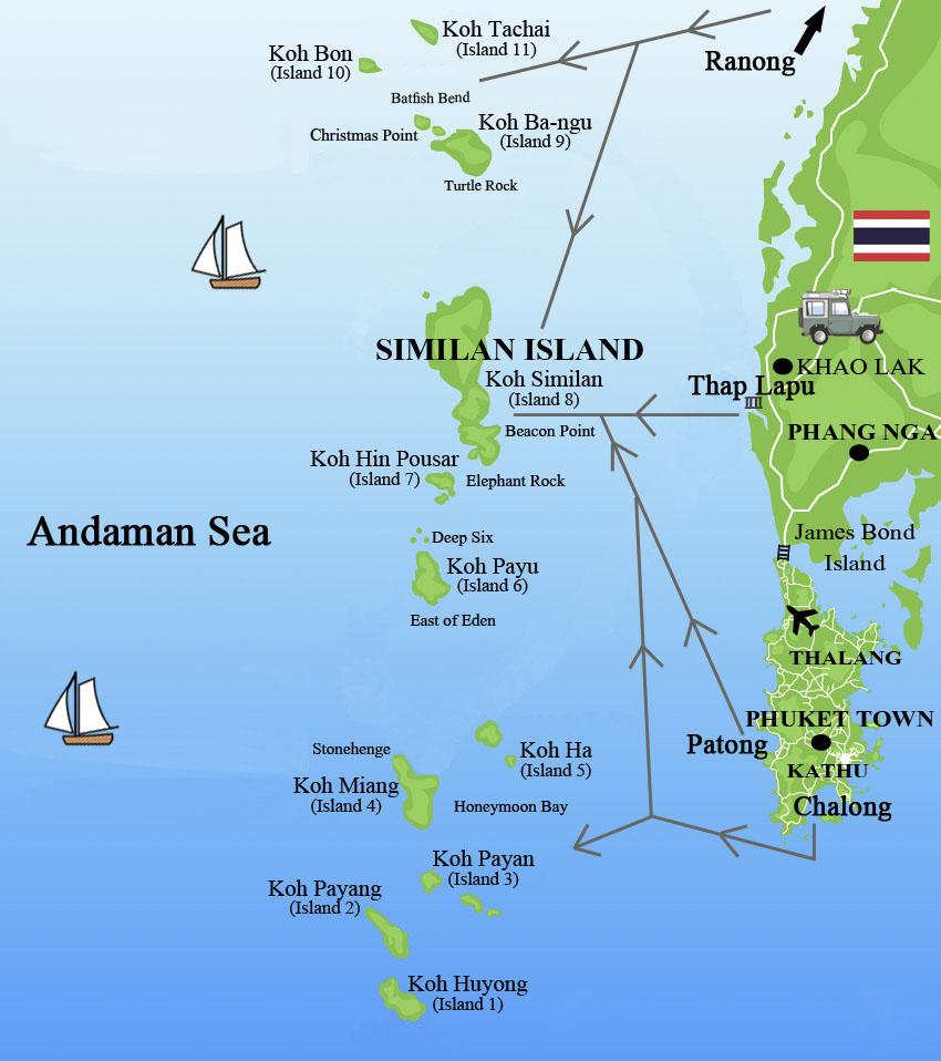 travel-map-similan-islands