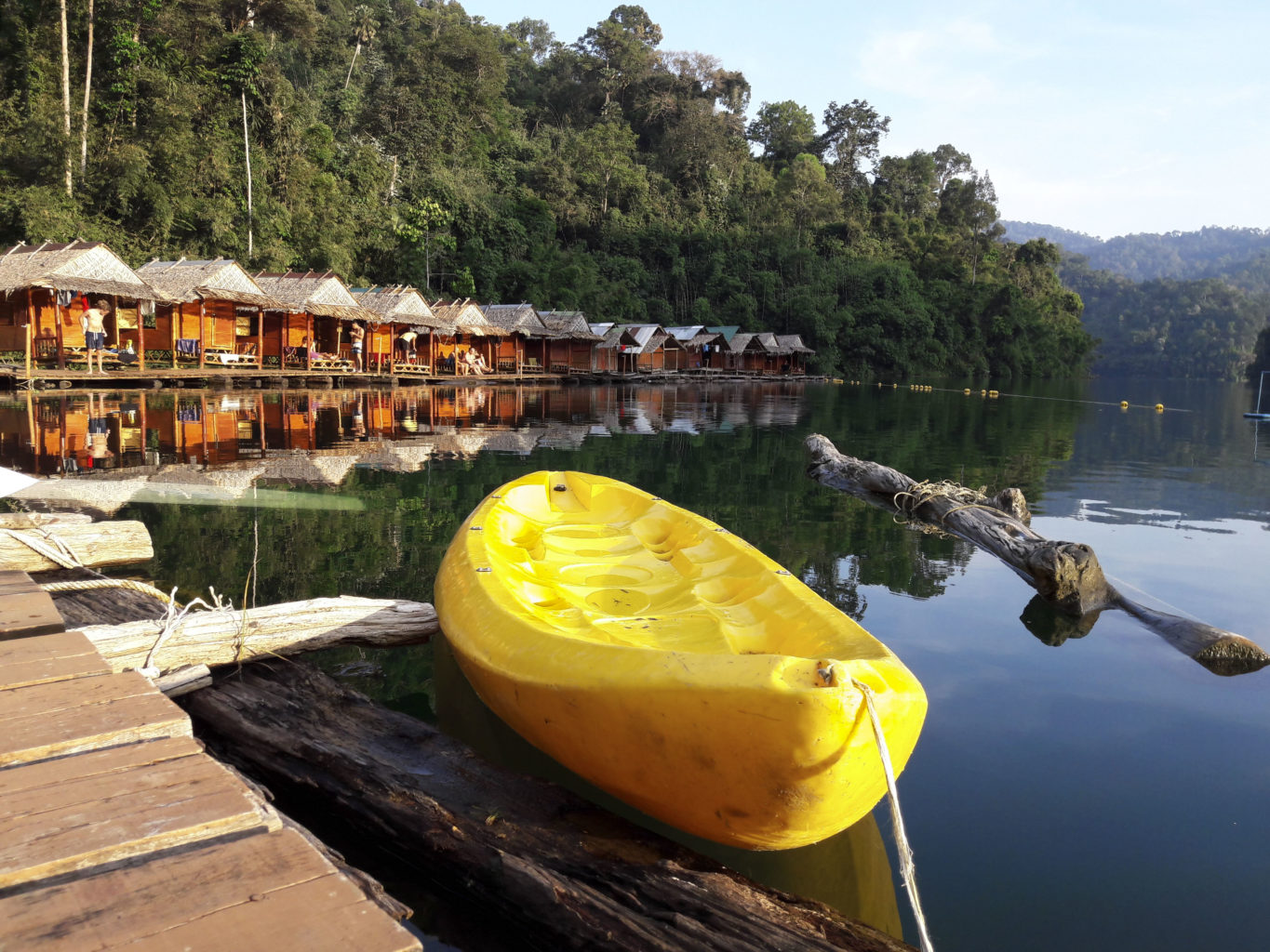 Khao Sok Floating Houses