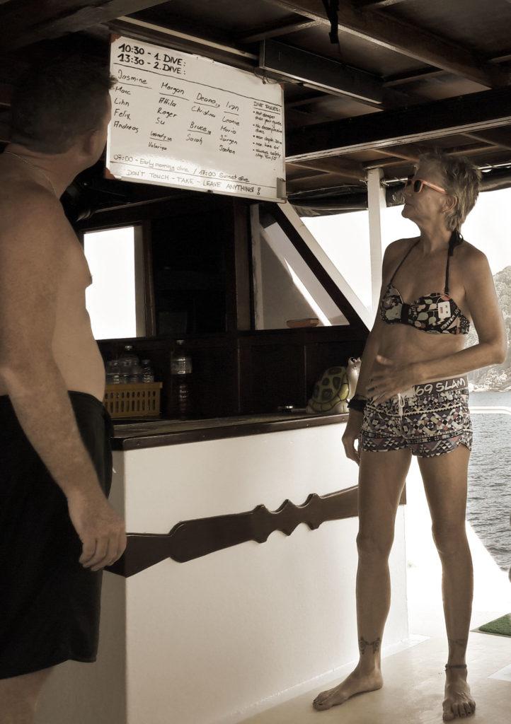 Similan islands, diving