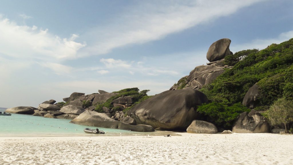 The Similan Islands, Thailand