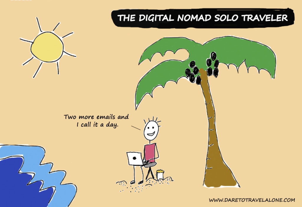 digital nomad solo traveler