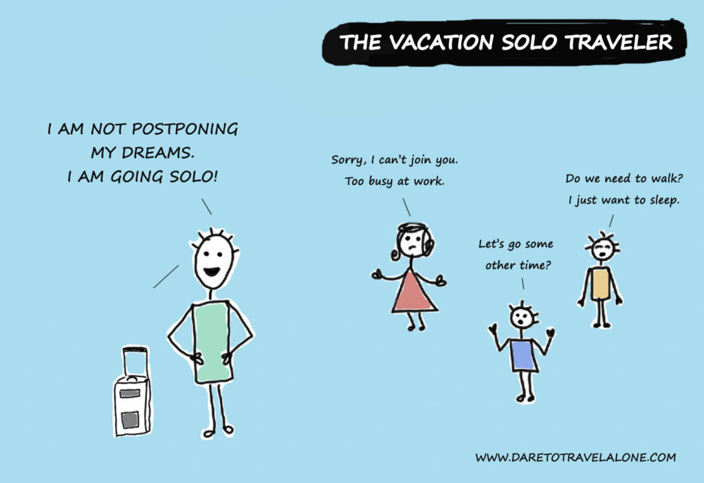 vacation solo traveler