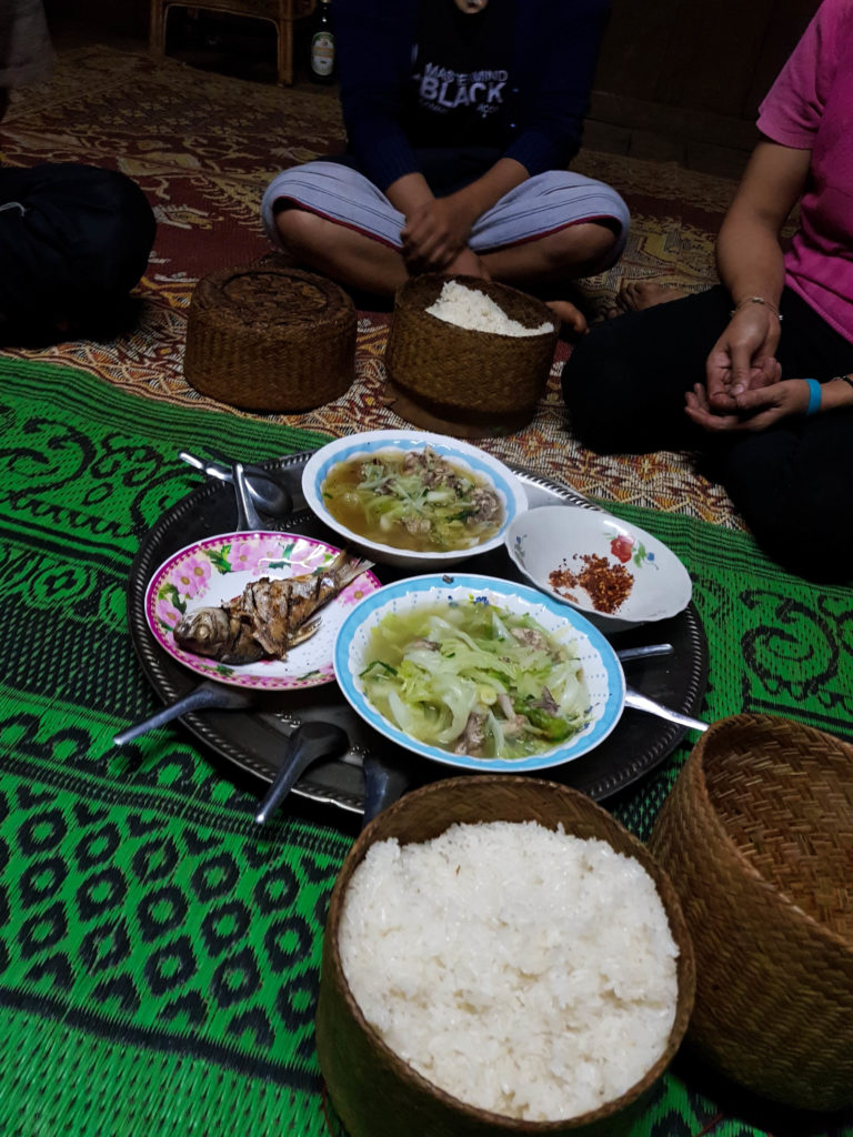 Dinner Captain Hook Homestay