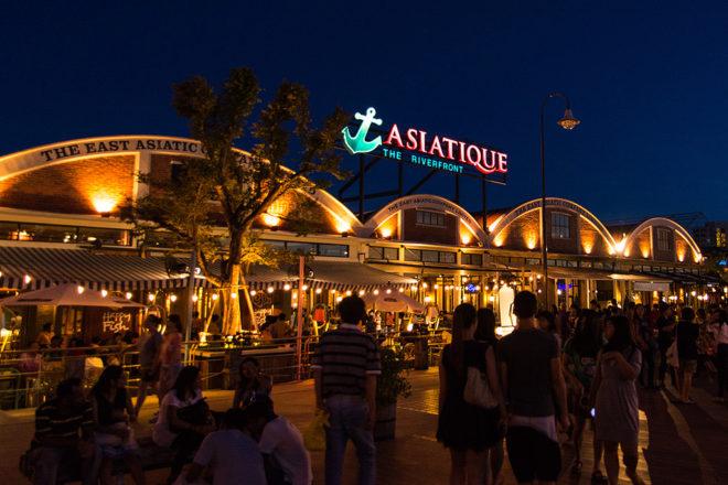 Asiatique market Bangkok